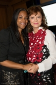 Frances Hale, Regional Director with Susan Sarandon