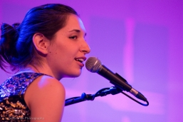 The talented and beautiful Lucy Schwartz